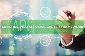 Creating Web API using Carter Framework
